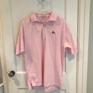 Peter Millar Men's Golf Shirt, size M